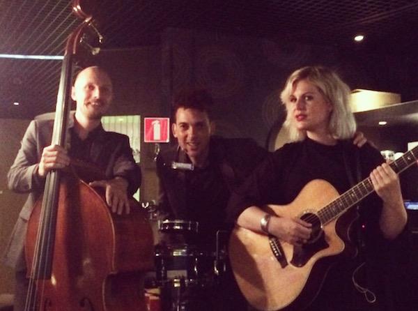 akoestisch trio Vuur & Vlam live muziek in casino